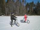 Pääsiäsipyöräilyä Ruostejärvellä 2012